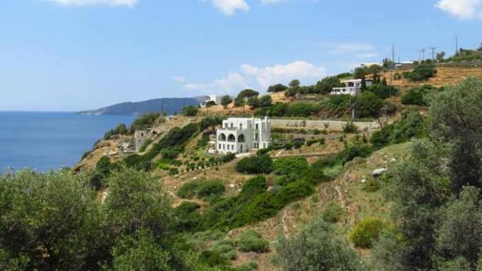 hillside on the Andros coast near Batsi IMG_8416