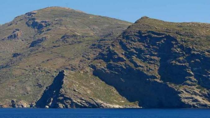 Tinos coastline