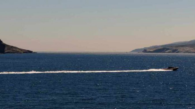 channel between Andros and Tinos