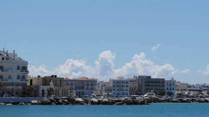 Tinos Town waterfront