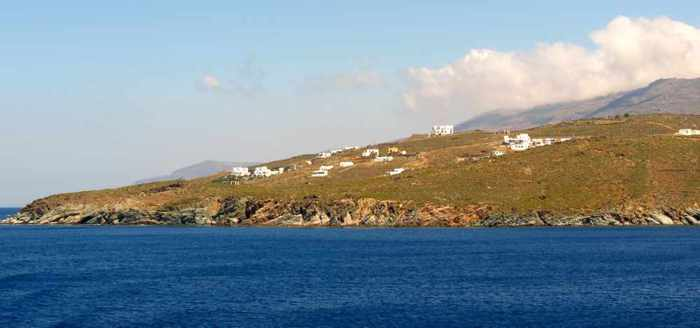 west coast of Tinos