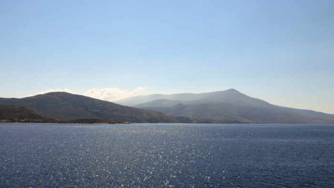 western coast of Andros