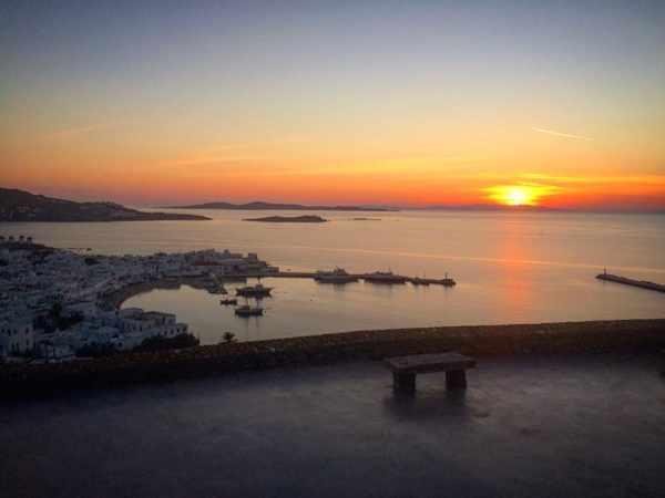 180o sunset bar Mykonos