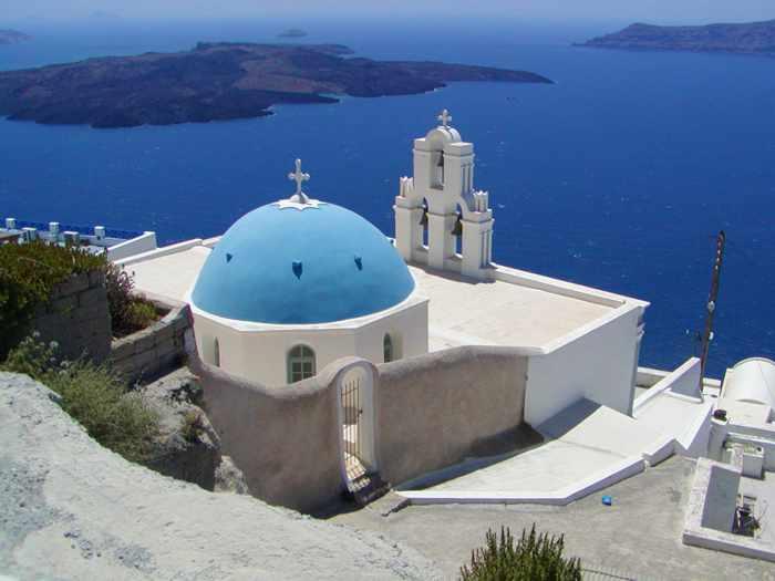 Agios Theodori church in Firostefani