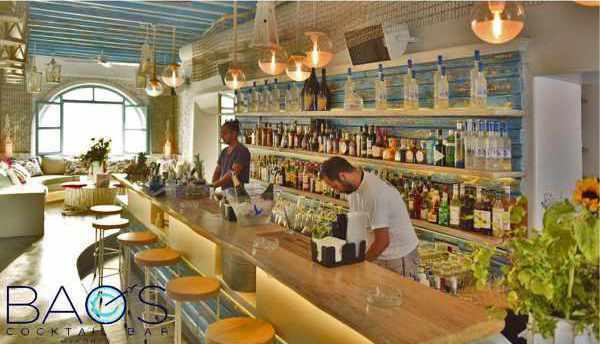 Bao's Cocktail Bar Mykonos