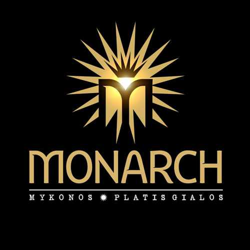 Monarch beach club at Platis Gialos Mykonos