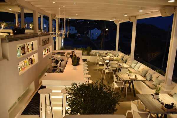 Compass Mediterranean Bar Restaurant Mykonos