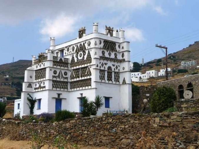 Dovecoat on Tinos island