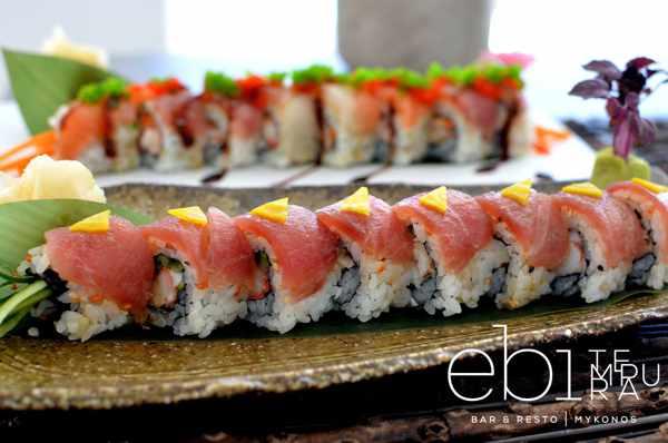 Ebi Tempura Bar & Resto Mykonos food photo by John Calivas