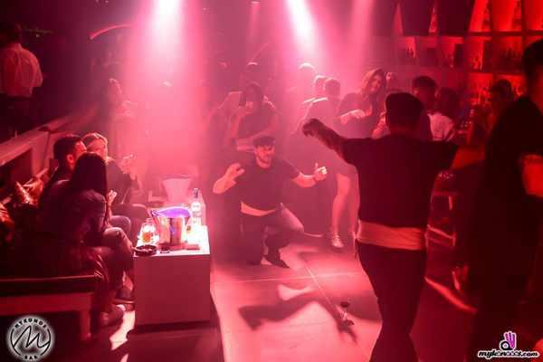 Greek dancing at Mykonos Bar