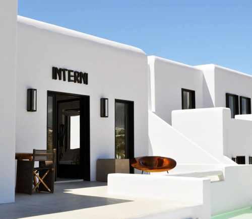 Interni retail shop Mykonos