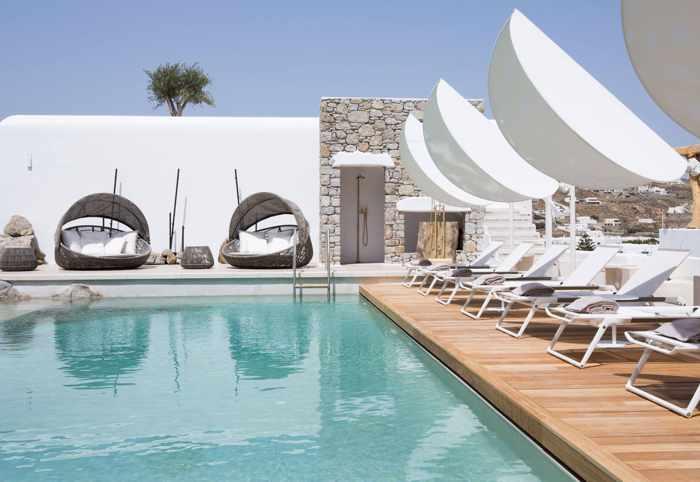 Kensho Boutique Hotel & Suites Mykonos swimming pool