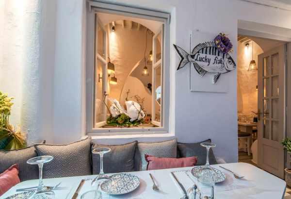 Lucky Fish restaurant Mykonos