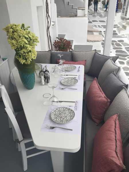 LuckyFish Mykonos restaurant
