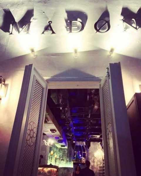 Madon Mykonos nightclub entrance