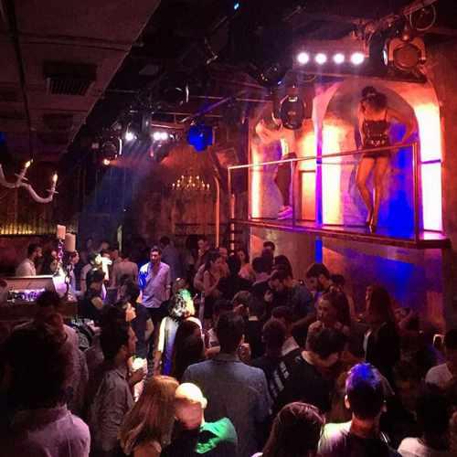 Madon Mykonos nightclub interior