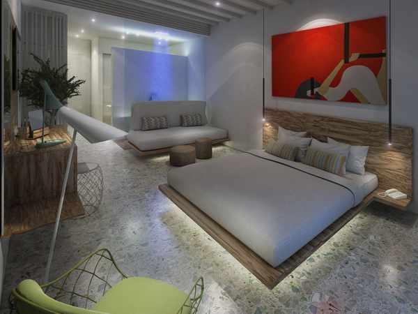 Mykonos Palace Greek Luxury Suites double Luxury Room