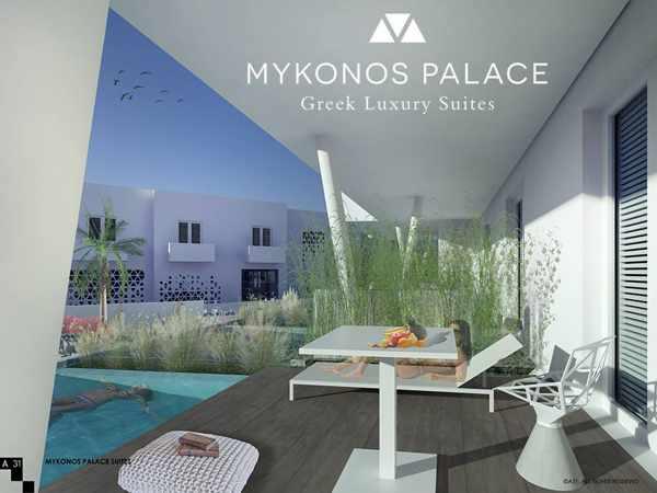 Mykonos Palace Greek luxury