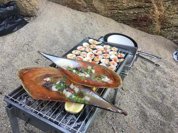 Sea food feast from Lifestyle Cooking by Teo Iliopoulous