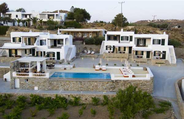 Seethrough Mykonos resort