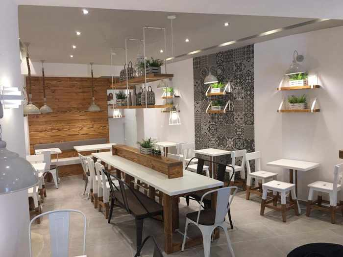 Souvlaki Story Mykonos restaurant interior photo 02 from its Facebook page