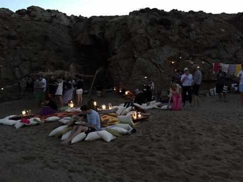 Teo Iliopoulos Bohemian beach party