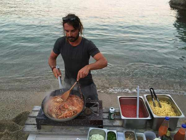 Teo Iliopoulos of Lifestyle Cooking Mykonos