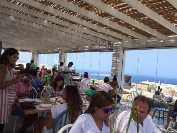 The Liberty Breakfast Room Mykonos