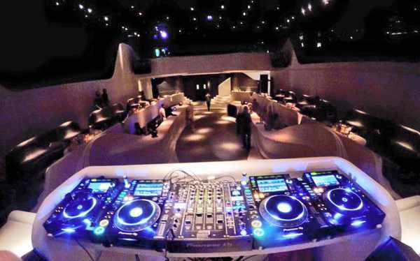 VOID Mykonos nightclub interior