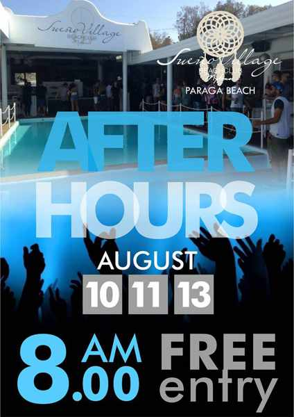 Sueno Village Mykonos After Hours parties