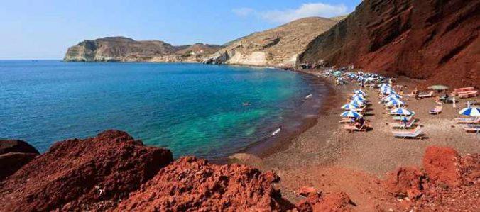 Red Beach Santorini image by Amigo tours travel agency