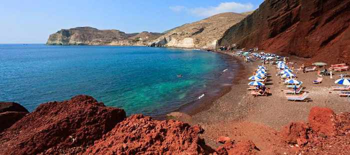 Red Beach Santorini image by Amigo tours travel agency