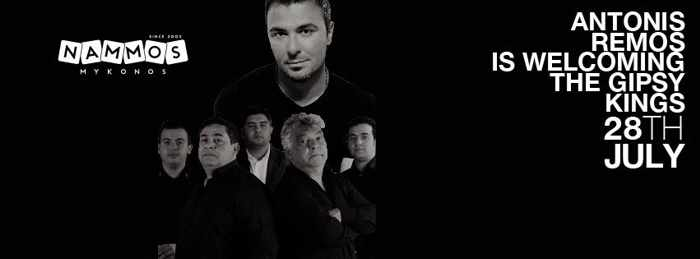 Nammos Mykonos presents Antonis Remos