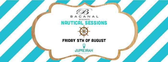 Jumeirah Mykonos party event