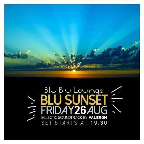 Blu Blu Lounge Mykonos Blu Sunset party