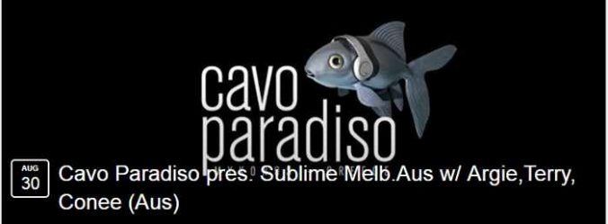 Cavo Paradiso party event