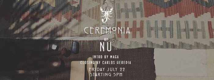 Ceremonia by Nu at Scorpios Mykonos July 22