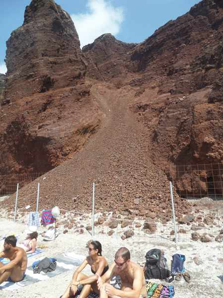 Red Beach Santorini photo by Daniel Dias da Silva Facebook photo of Red Beach Santorini