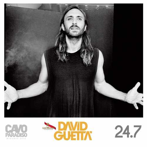 David Guetta at Cavo Paradiso Mykonos