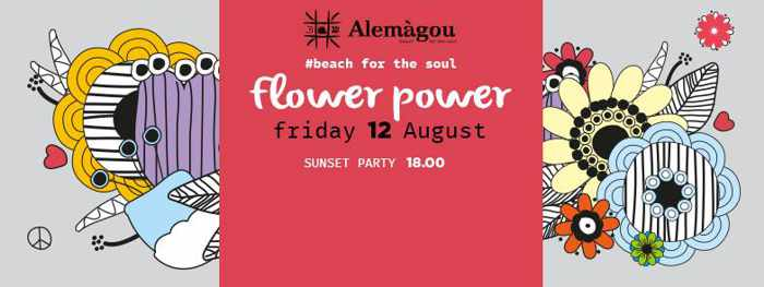 Alemagou Mykonos sunset beach party