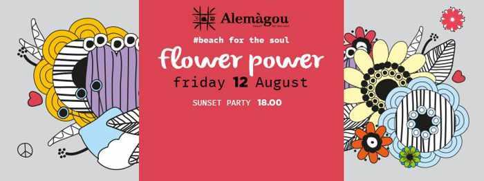 Alemagou Mykonos sunset beach party
