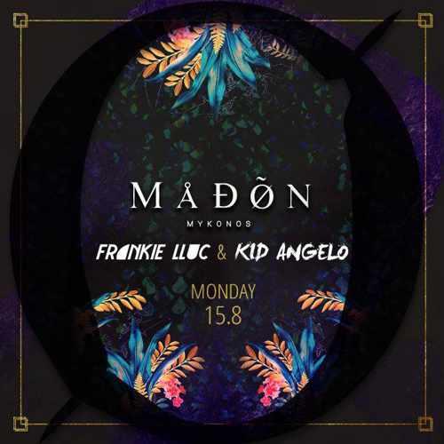 Madon nightclub Mykonos party event