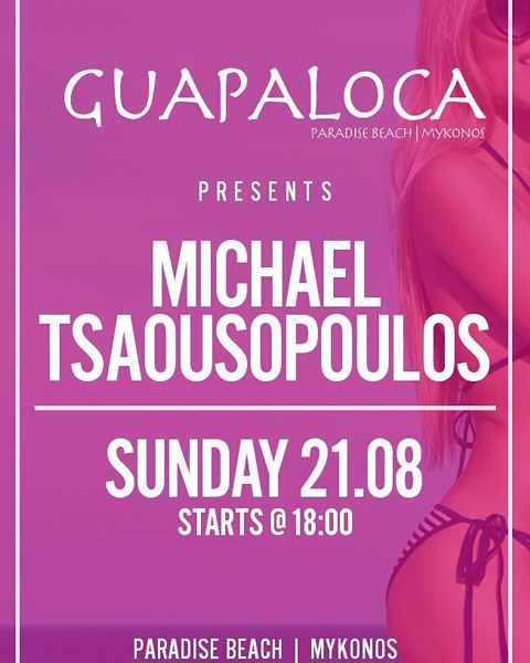Guapaloca bar Mykonos party event