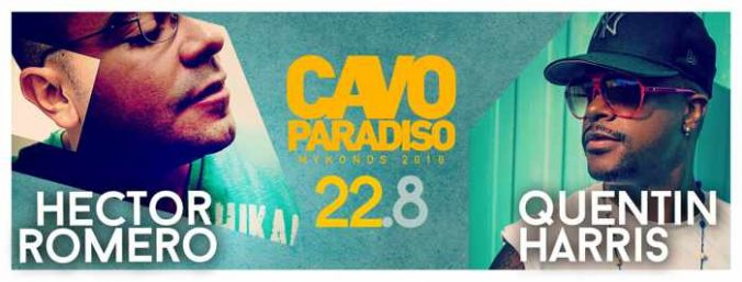 Hector Romero and Quentin Harris at Cavo Paradiso