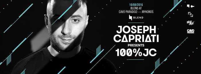 Cavo Paradiso Mykonos presents Joseph Capriati