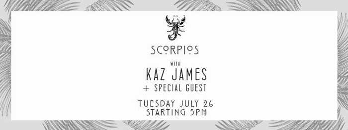 Scorpios Mykonos party event