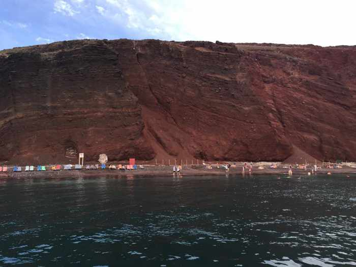 Read Beach Santorini photo by Kim Conway Triggs