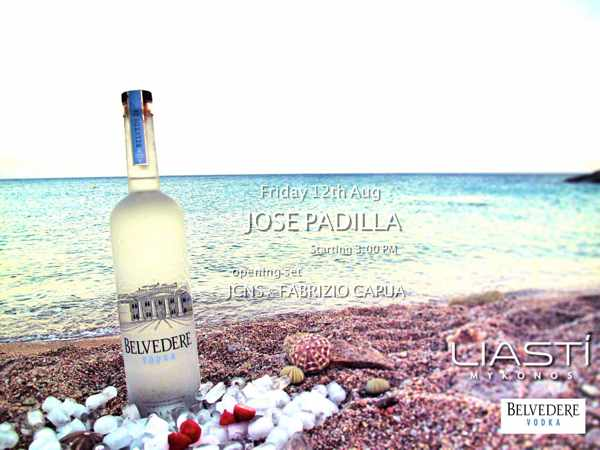 Jose Padilla at Liasti Mykonos