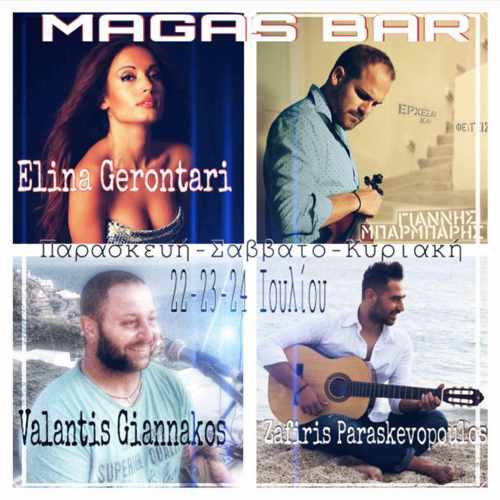 Magas Cafe-Bar Mykonos music event