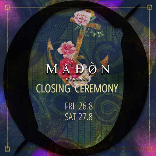 Madon nightclub Mykonos closing parties 2016